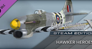 FSX Steam Edition Hawker Heroes Free Download PC Game